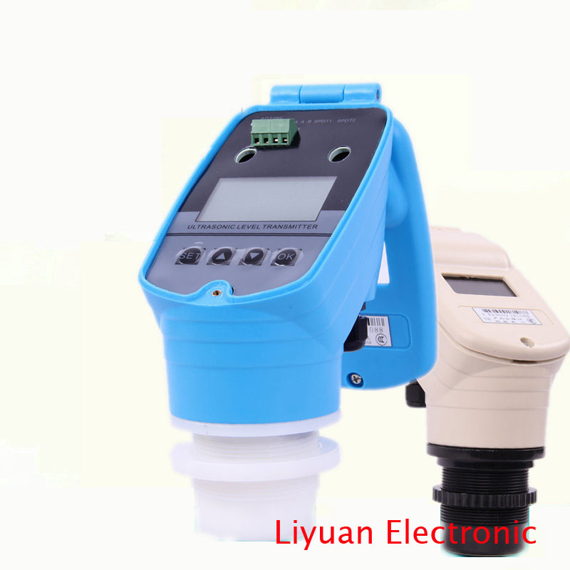 Image 2 - 4 20MA integrated ultrasonic level meter / ultrasonic level meter / 0 5M ultrasonic water level gauge / DC24V level sensor-in Sensors from Electronic Components & Supplies