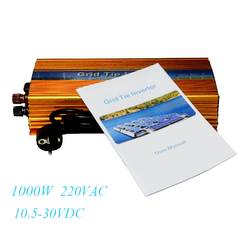 MAYLAR@ 10.5-30VDC 1000W Solar Grid Tie Inverter Pure Sine Wave with MPPT Output 180-260V 50hz/60hz For Home PV Power System mppt solar inverter 1000w 1kw 24 45v dc input 36v solar pv grid tie pure sine wave power inverter ac output 190 260v