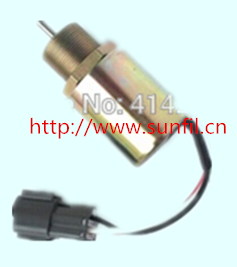 Fuel Shutdown Solenoid Valve SA-3725-24,1751ES for  223D  engine,24V FREE SHIPPING fuel shutdown solenoid valve 153es 2212480 sa 4269 12 12v for mitsubishi komatsu wa320 3 kubota