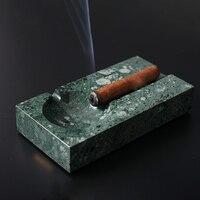 Concrete double slot ashtray silica gel mold cement cigar ashtray mould
