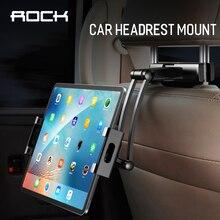 Rock Soporte Universal elástico para Tablet PC Auto 360, soporte de montaje para reposacabezas de asiento trasero de coche, para Ipad, Xiaomi, Samsung