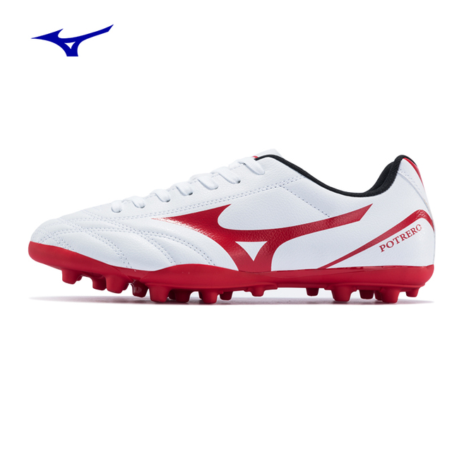 b66159ba1 2018New MIZUNO Potrero WIDE AG Soccer Shoes for men Comfortable Wearable  Sports Shoes Sneakers Football Boots P1GA189262