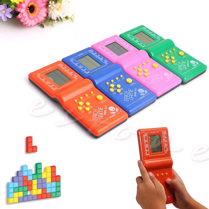 Classic Tetris Hand Held LCD Game Electronic Vintage Classic Tetris Brick  Handheld Arcade Pocket Toys on Aliexpress com | Alibaba Group
