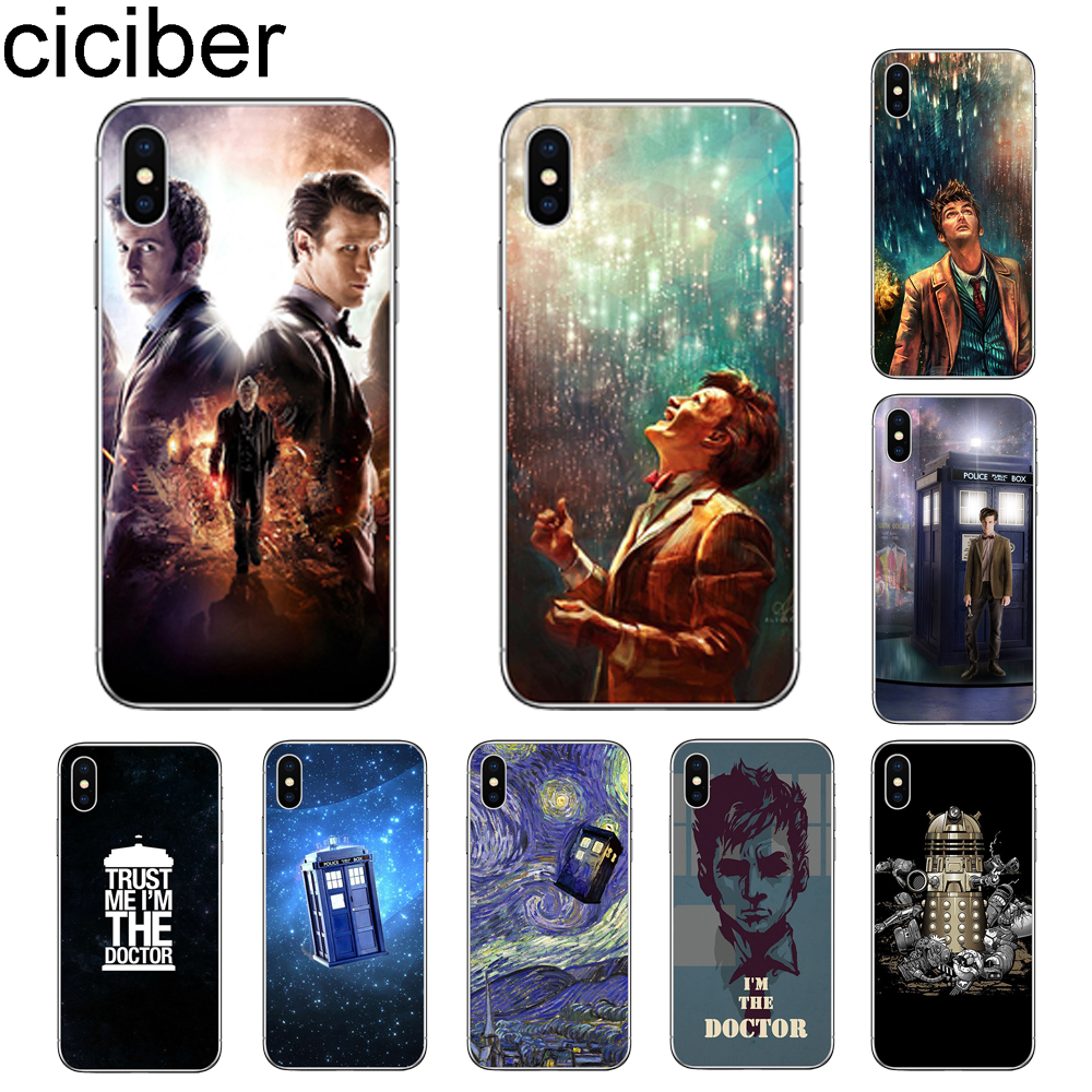 Cellphones & Telecommunications Fitted Cases Lvhecn Tpu Skin Phone Case Cover For Iphone 5 5s Se 6 6s 7 8 Plus X Xr Xs Max The Tardis Police Box Doctor Who