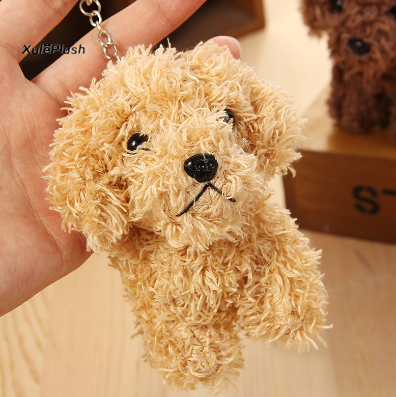 Image 3 - 3 cores cachorros macios pelúcia boneca de brinquedo recheado,  10cm aprox. Chaveiro doggies brinquedos de pelúcialittle plush  toysplush toysstuffed toys