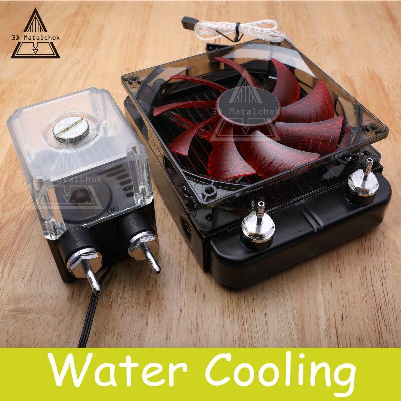 Kit de refroidissement à eau 3D Matalchok Titan AQUA pour pièces d'imprimante 3D pour extrudeuse E3D Hotend Titan pour KIT d'imprimante 3D TEVO
