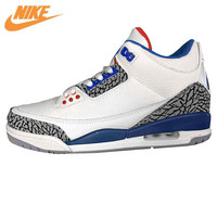 Nike Air Jordan 3 Retro Sport Men S Basketball Shoes Variety Of Color Breathable Cushioning Sneakers