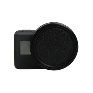 Image 4 - Cubierta impermeable de Metal negro de 52mm con polarización Circular CPL juego de filtros para lentes con adaptador de filtro para GoPro Hero 7 6 5