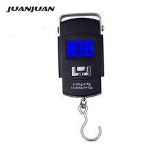 Pocket-Scale Fishing-Scales Balance Luggage Kitchen-Hook Handing Digital 50kg Electronic