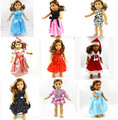 "Free shipping 2016 hot popular new style 18 ""American Girl Pattern doll clothes / clothing baby gift"