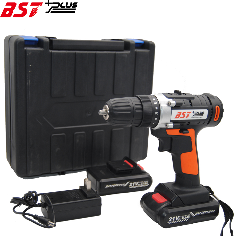 BST+PLUS(seven style) 21V LITHIUM BATTERY 2 SPEED CORDLESS DRILL MINI DRILL HAND TOOLS ELECTRIC DRILL POWER TOOLS SCREWDRIVER bst plus one style 16 8v lithium battery 2 speed cordless drill mini drill hand tools electric drill power tools screwdriver