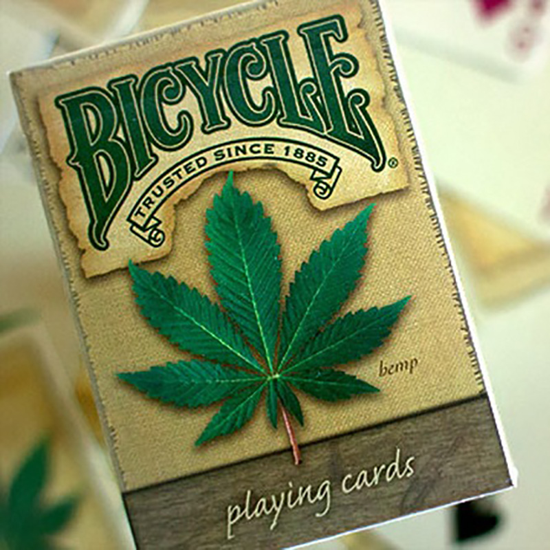 Bicycle Hemp Deck Playing Cards Magic Category