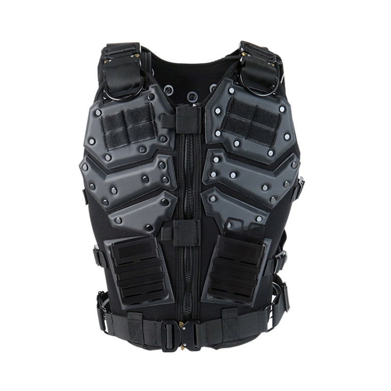 TMC Multi-Function Tactical Vest Hunting Military Vest Body Armor Combat Paintball Waistcoat With 5.56 Fast MAG Pouch