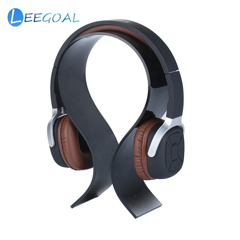 Acryl Halterung Kopfhörer Zeigen Regal Headset Kopfhörer Stehen Display Halter Aufhänger