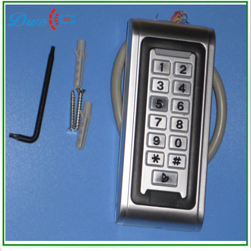 ФОТО High Quality 125khz em-id Metal case waterproof ip68 single door offline user access control reader