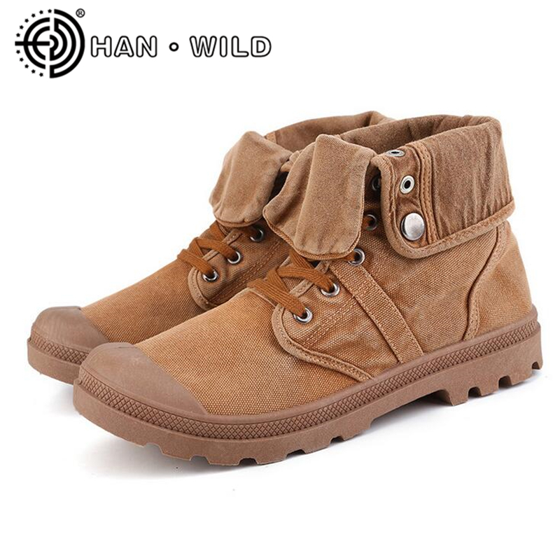 uk availability d12a2 b1387 Brand Mens Ankle Boots Male Shoes Vintage Casual Motorcycle Boots Washed  Canvas Ankle Boots Classic Man