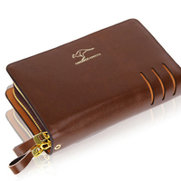 2017 NEW Kangaroo Genuine Leather Purse High Quality Men S Wallet Brand Card Holder Clutch Male