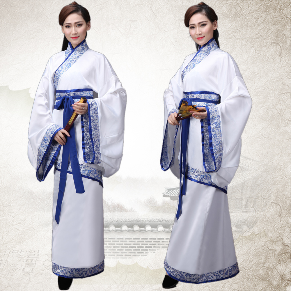 Ancient Chinese Costume Women Clothing Robes Traditional Beautiful Dance Costumes Hanfu Tang Dynasty Dress China Fairy