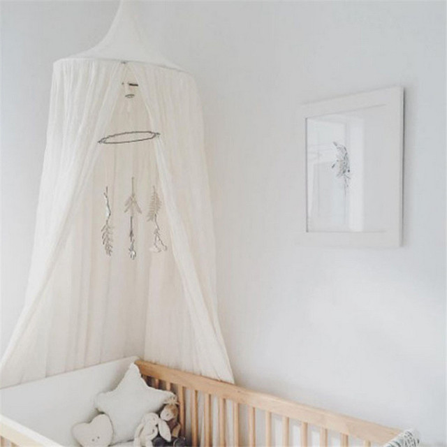 1pc Round Dome Tents Mosquito Net Ceiling Hanging Canopy for Baby Bed Children Room Decoration Photography & 1pc Round Dome Tents Mosquito Net Ceiling Hanging Canopy for Baby ...