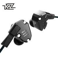 KZ ZS6 2DD+2BA Hybrid In Ear Earphone HIFI DJ Monito Running Sport Headphone With Microphone Headset Earbud KZ ZS5 Pro