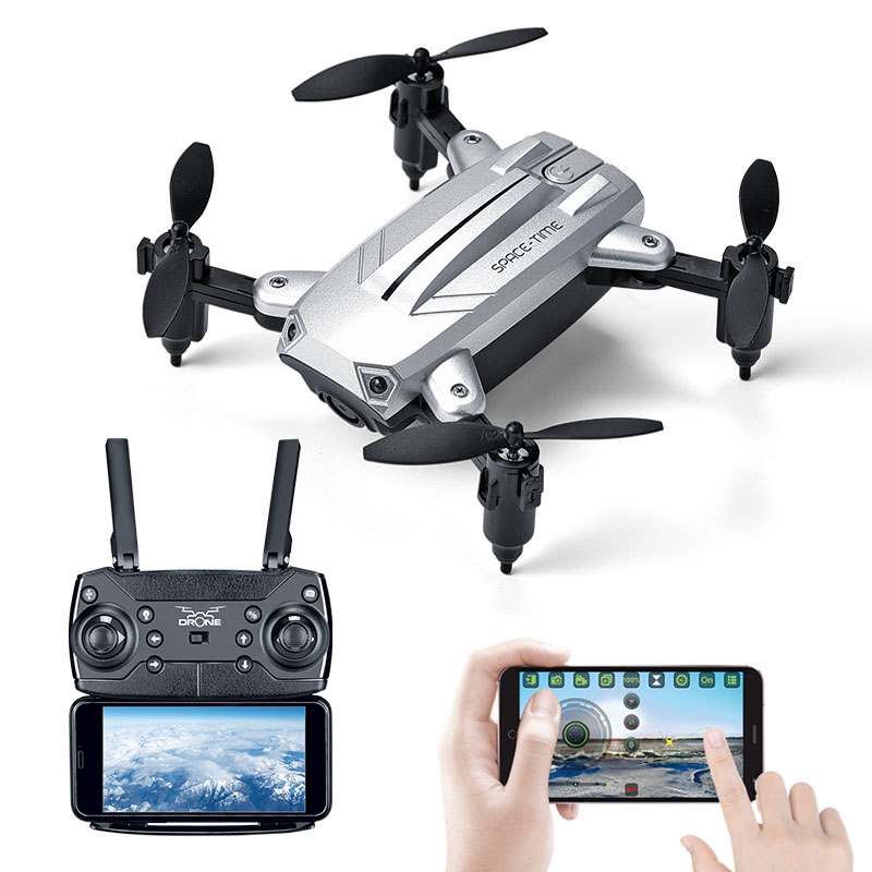 Mini Drone With Camera Folding Quadcopter Selfie dron FPV Altitude Hold Remote Control RC Helicopter for Toy gift