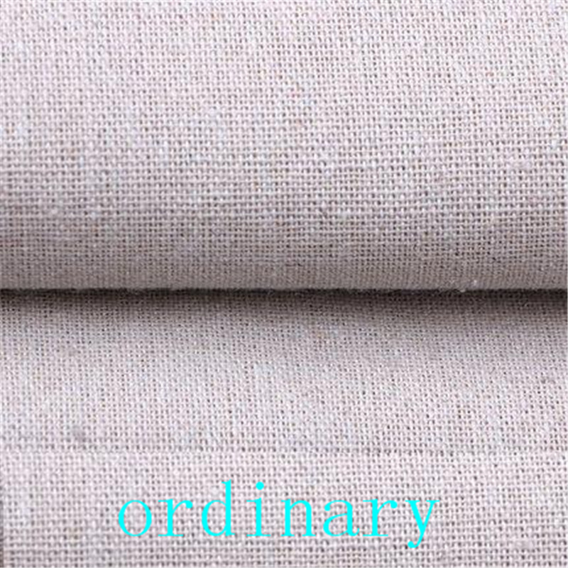 Plain Linen Fabric Hand Embroidery Natural Linen Fabric Perfect For