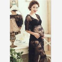 2018 임신 여성 사진 의류 스튜디오 출산 드레스 임신 여성 사진 옷 임신 걸릴 그림