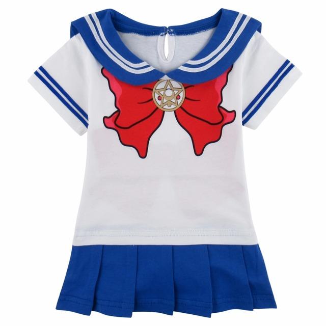 Bébé Filles Sailor Moon Cosplay Body Japonais Anime Jolie Soldier Costume Princesse Tsukino Usagi avec Chaud Jambe bottes Chaussettes