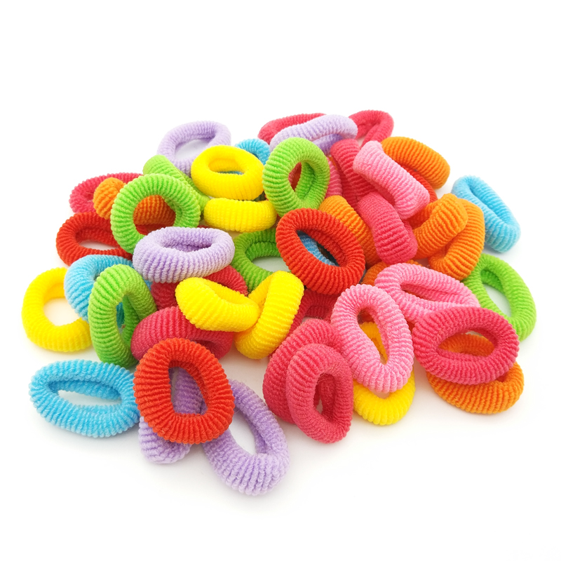 50 pcs/lot 2.5cm Coloful High Quality Rubber Band Children Kids Elastic Hair Band Baby Girls Hair Rope Accessories 50 pcs lot 3cm candy colour basic rubber band children kids elastic hair band baby girls hair rope accessories