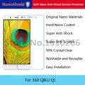 NanoShield Suave Nano a prueba de Explosiones Protector de Pantalla Anti-Choque Película Protectora Para 360 QIKU Q1 Con Envases Al Por Menor