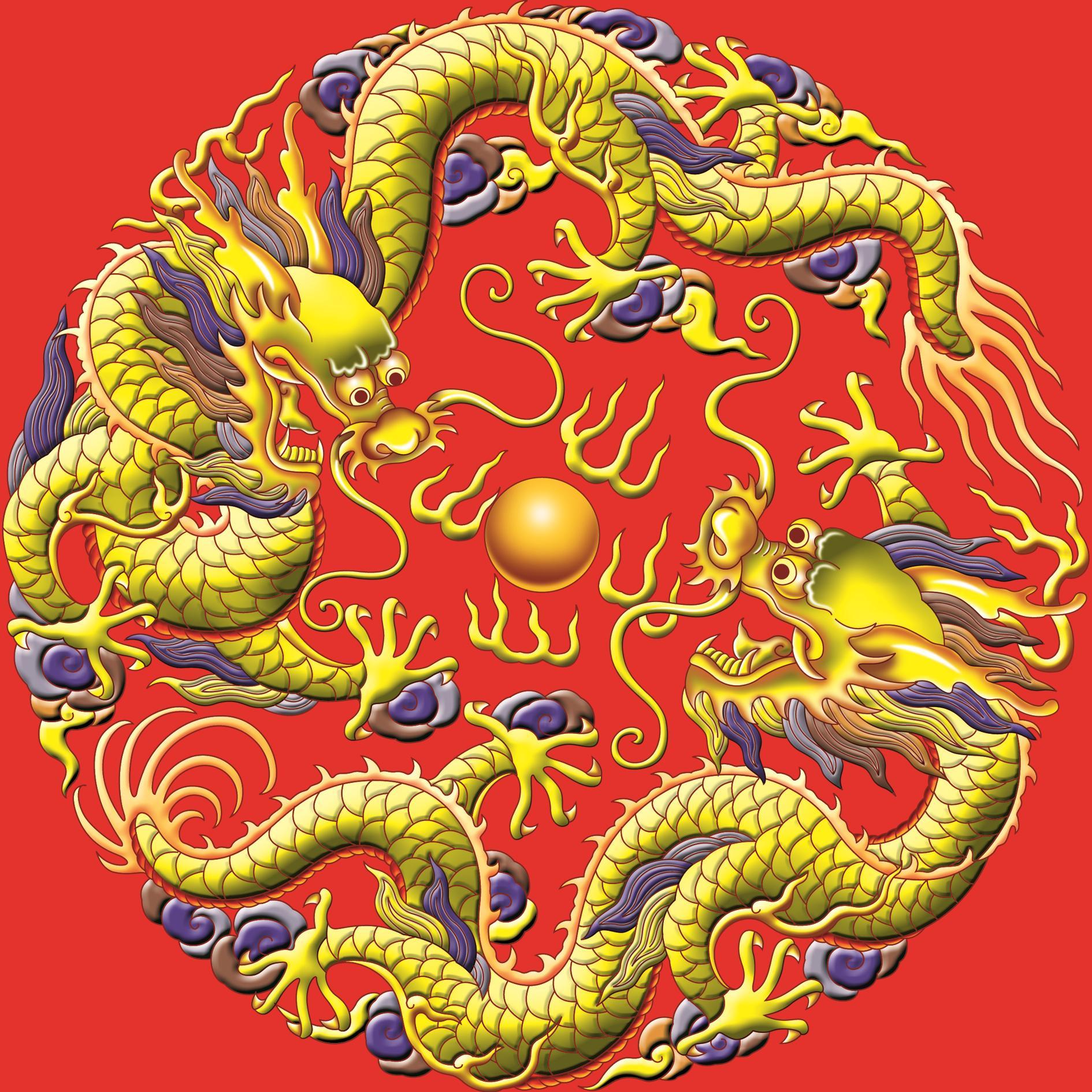 Китайский дракон тяньлун картинки