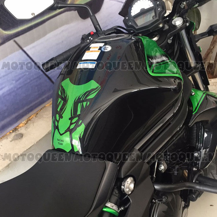 Motorcycle Gas Fuel Oil Tank Pad Protector Decals Sticker Case For
