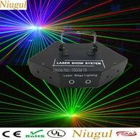 Niugul RGB Laser/DJ Lighting/LED Stage Effect Lights/Laser Projector/Full Color DMX512 LED Beam Light/KTV Disco Home Party Lamps