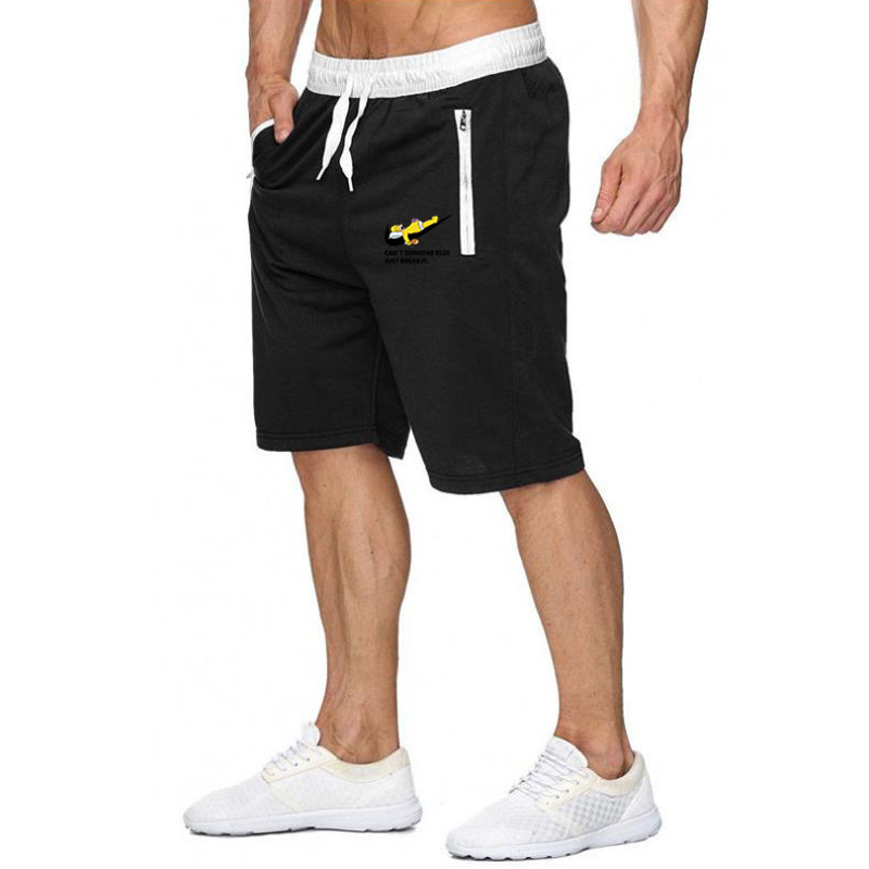 Men's Clothing Summer Men Casual Sweatpants Shorts 1/2 Trousers Short Fitness Clothing Bodybuilding Men Funny Shorts Soft Cotton Short Pants Let Our Commodities Go To The World
