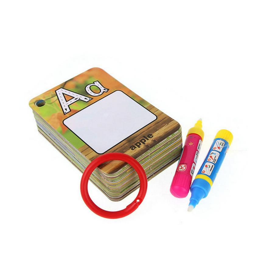 26 Letters Children Water Painting Board Painted The Coloured Drawing Pattern  AR Toy Dropship Y714