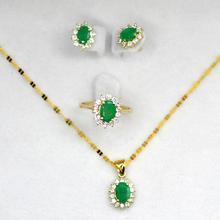 Натуральный изумруд, ювелирный набор, хорошее ювелирное изделие, брендовый женский набор GVBORI, роскошный, классический, элегантный, лучший подарок, зеленый драгоценный камень