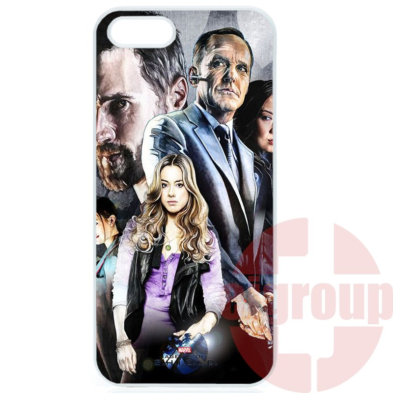 For Xiaomi Mi 3 4 4i 4c 5 5s Redmi 1S 2 2S 3S 2A 3 Note 2 3 4 Pro Max Plus Fashion Cover Case marvel agents of s.h.i.e.l.d