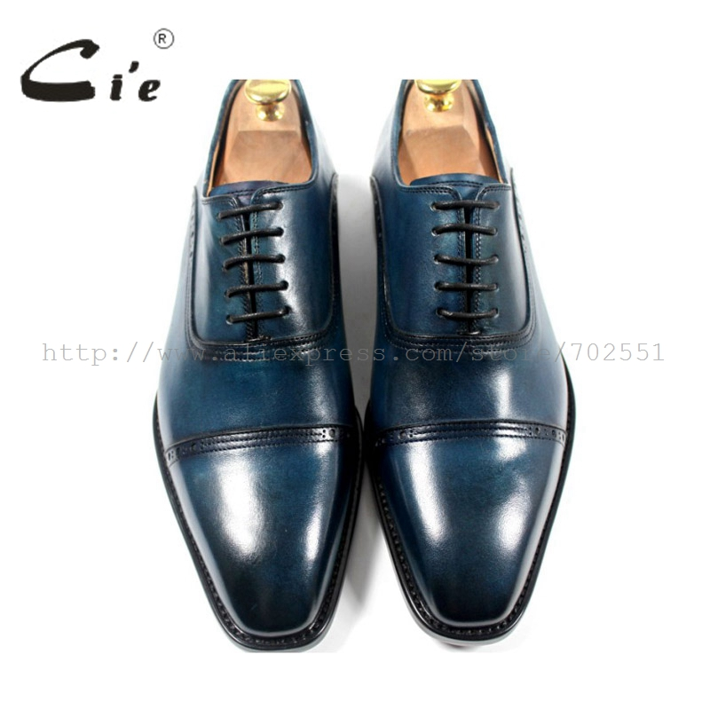 Envío Marino Oxford Color Hombres Hizo Zapatos Superior Craft A Cie Adhesivo Genuino El Mano Libre Hecho Outsole Cuero De Ox179 aOZx5q