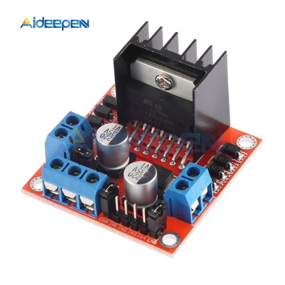 DC Stepper Motor Drive Controller Board Module L298N Dual H Bridge For Arduino