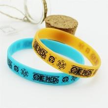 One Piece Luffy Silicone Bracelet