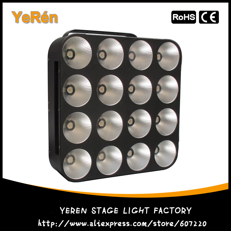 LED Blinder Light LED Dotz Matrix 16*30W Cob Blinder RGB Tricolor DJ LED Effect Light blinder led cob 4x100w led blinder light 400w dmx512 2 channels cold warm white blinder stage effect lighting dj party led lamp