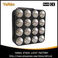 LED Blinder Light LED Matrix 16X30W COB BLINDER RGB Tricolor Dj LED Effect Light