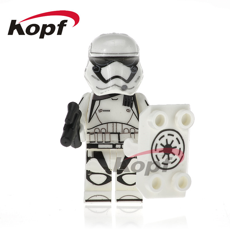 Single Sale Building Blocks Clone Trooper Figures Imperial Army Military Stormtrooper Bricks Education Toys for children PG769