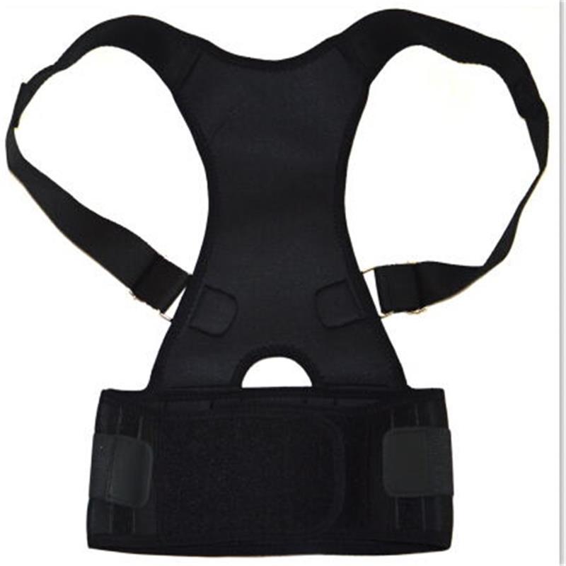 Hot Adjustable Back Support Men Women Back Protector Belt Professional Fitness Back Support Braces Orthopedic Back Support S-2XL