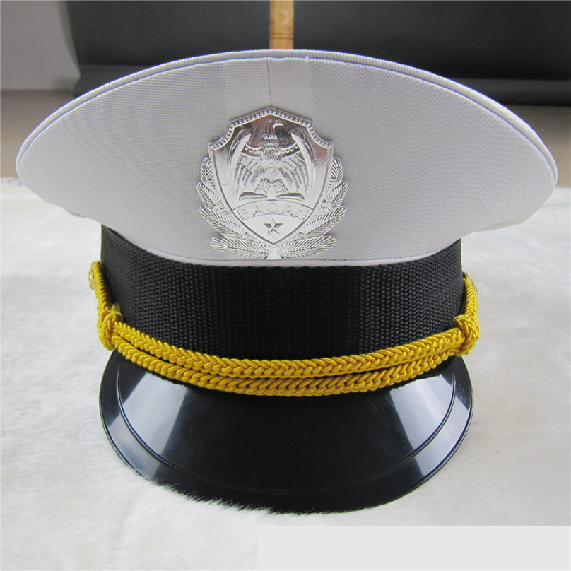 Hot Sale Male Wide Brim Hat Summer Men White Navy Tactical Army Visor Cap Military Caps For Cosplay Christmas Festival Gifts To Assure Years Of Trouble-Free Service