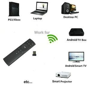 Image 3 - Tikigogo T1M גירוסקופ אוויר עכבר 14 IR למידה מיקרופון עבור Google חיפוש קולי עבור אנדרואיד טלוויזיה חכמה תיבת PK G10 g20 השלט