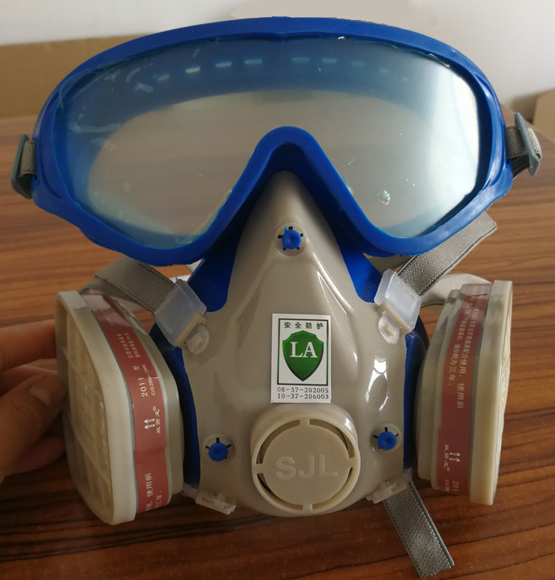Full Facepiece Respirator Mask Filter Gas Mask With Goggles For Pesticide Pintura Carbon Filter Mask Paint Spray Gas Boxes Back To Search Resultssecurity & Protection Masks