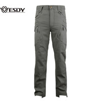 ESDYMen IX9 Commander Military Tactical Training Trousers Spring Autumn Outdoor Hiking Camping Waterproof Quick Dry Cotton