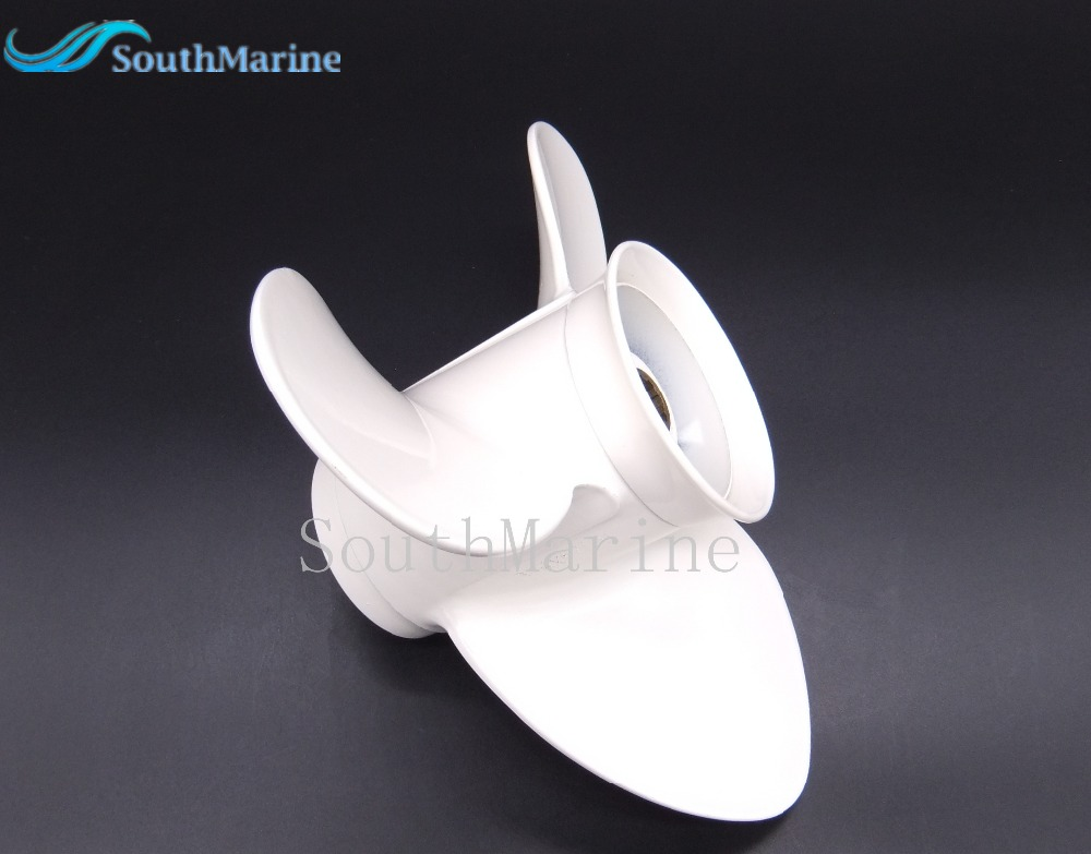 9 1/4x8-J Aluminum Alloy Propeller for Yamaha 9.9HP 15HP Outboard Motors  9 1/4 x 8 -J ,Free Shipping