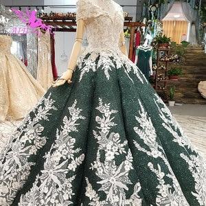 Image 2 - AIJINGYU ciążowe suknie ślubne w stylu Vintage suknia nowy dla nowożeńców Boho Chic nosić suknie ślubne w stylu Vintage sukienka z rękawami